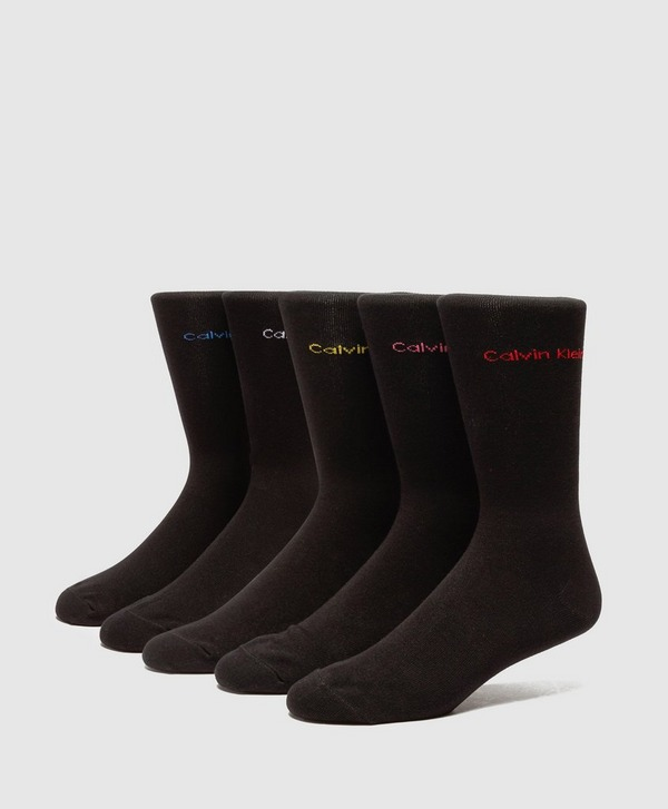 Calvin Klein 5-Pack of Logo Socks