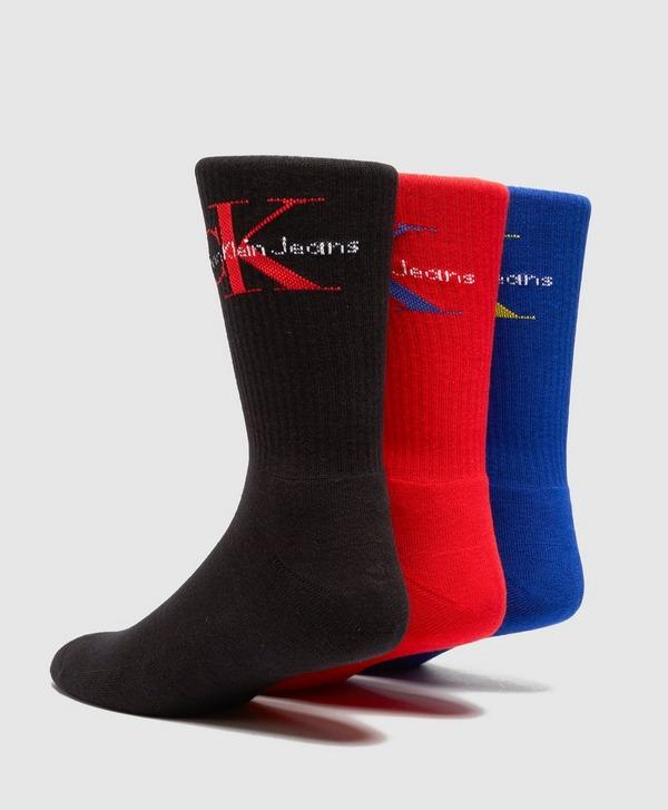 Calvin Klein 3 Pack of Retro Socks