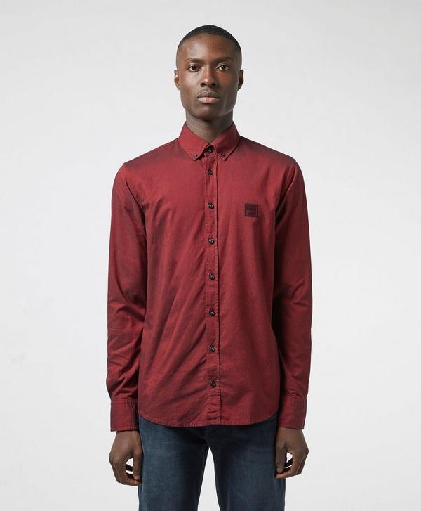 BOSS Mabsoot Long Sleeve Oxford Shirt