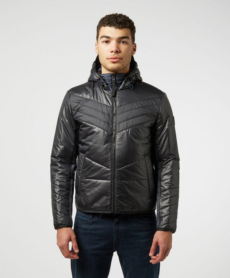 BOSS O'Palm Padded Baffle Jacket