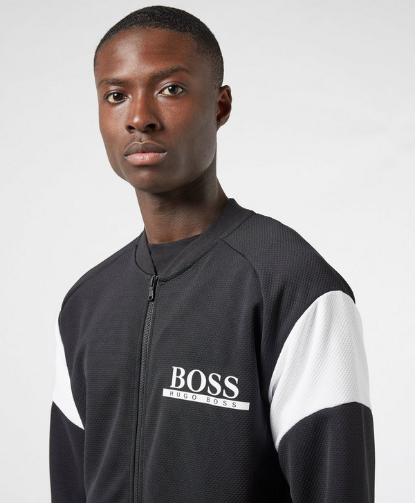 BOSS Split Full Zip Bomber Track Top