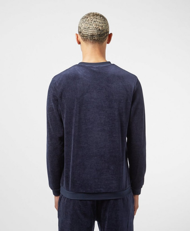 BOSS Velour Crew Sweatshirt