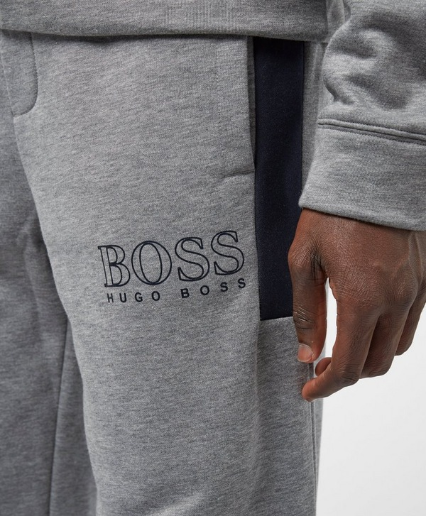 BOSS Raglan Logo Cuffed Fleece Pants