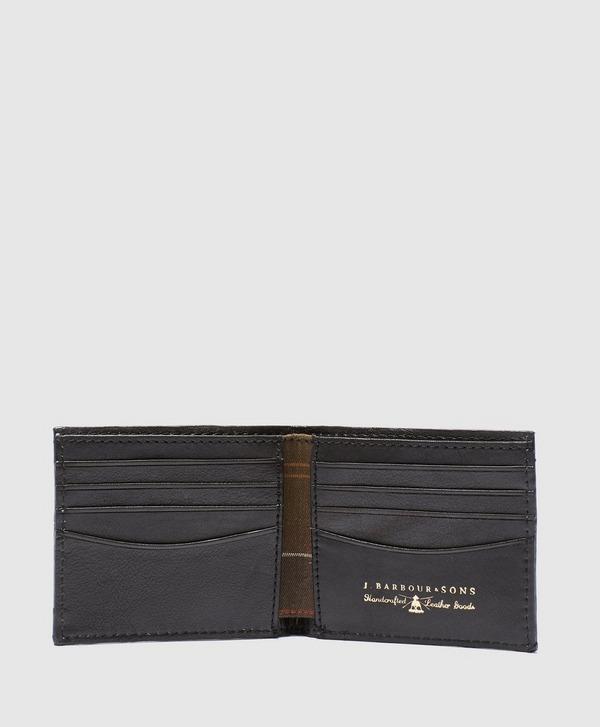 Barbour Wallet And Belt Gift Set