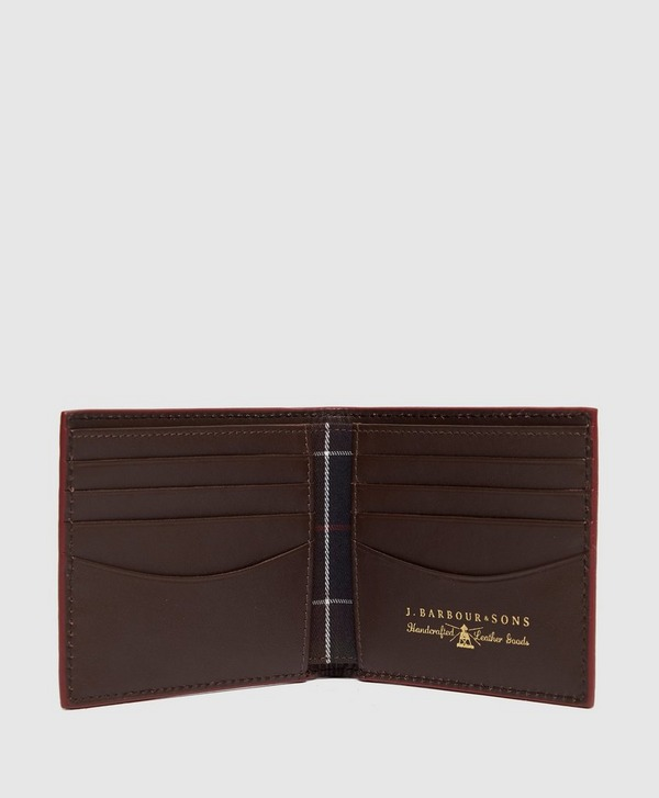 Barbour Leather Wallet