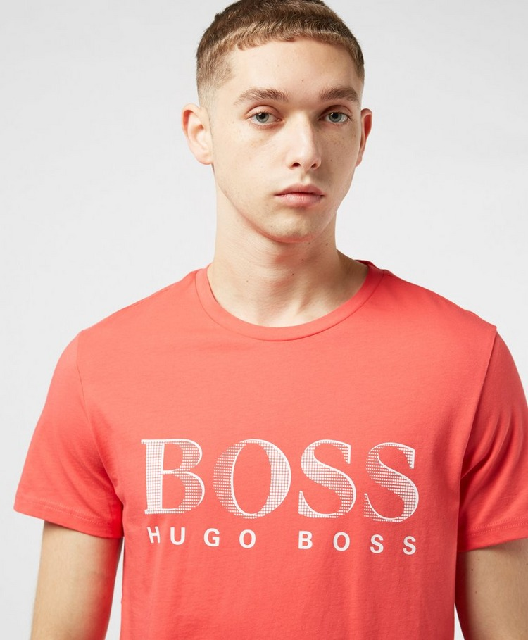BOSS UVA Logo Short Sleeve T-Shirt