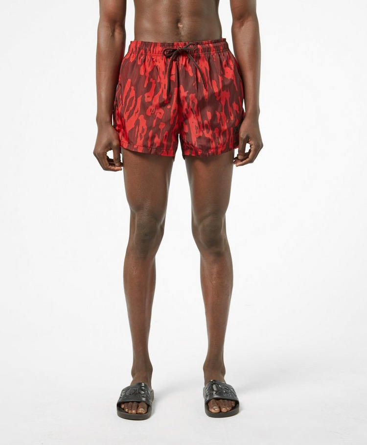 HUGO Palawan Camo Swim Shorts