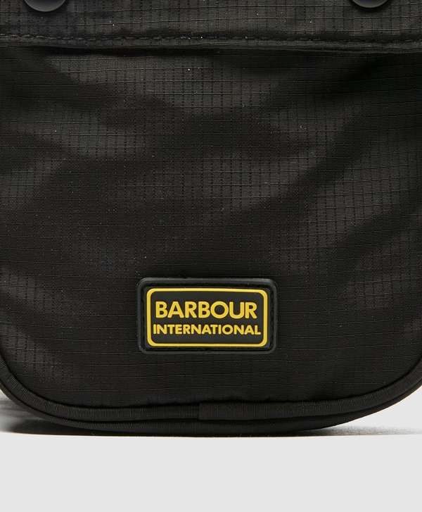 Barbour International Logo Shoulder Bag
