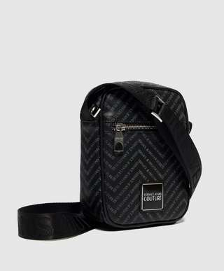 Versace Jeans Couture Chevron Small Item Bag