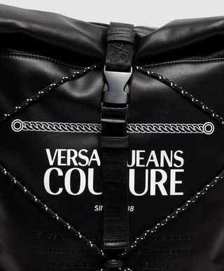 Versace Jeans Couture Roll Top Backpack