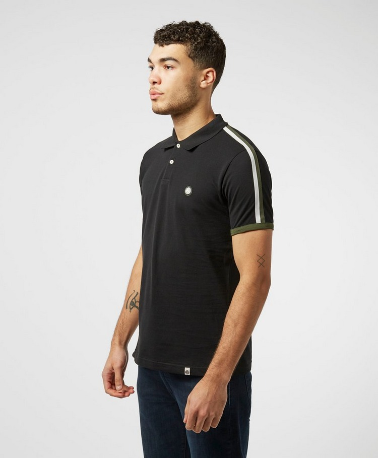 Pretty Green Tilby Tape Short Sleeve Polo Shirt - Exclusive
