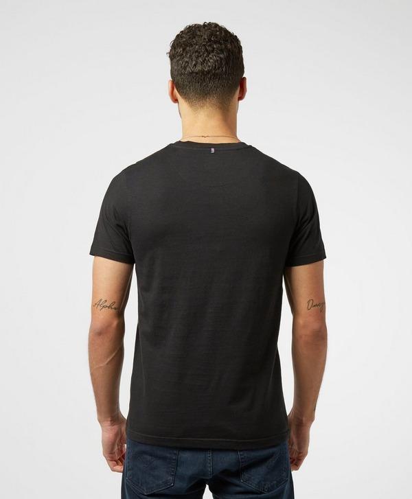 Pretty Green Vertical Stripe Short Sleeve T-Shirt - Exclusive