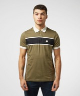 Pretty Green Cut and Sew Short Sleeve Polo Shirt - Exclusive