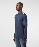Pretty Green Tilby Tape Long Sleeve Polo Shirt - Exclusive