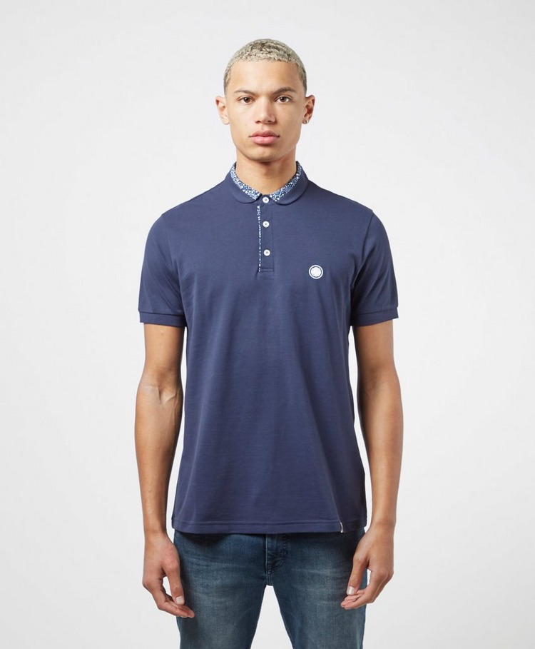Pretty Green Paisley Star Short Sleeve Polo Shirt
