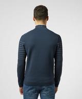 BOSS Zoayo Half Zip Knit Sweatshirt
