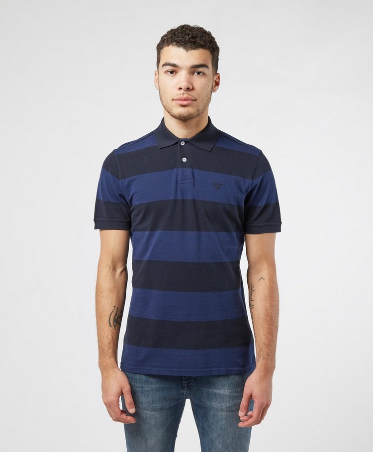 Barbour Harren Stripe Short Sleeve Polo Shirt