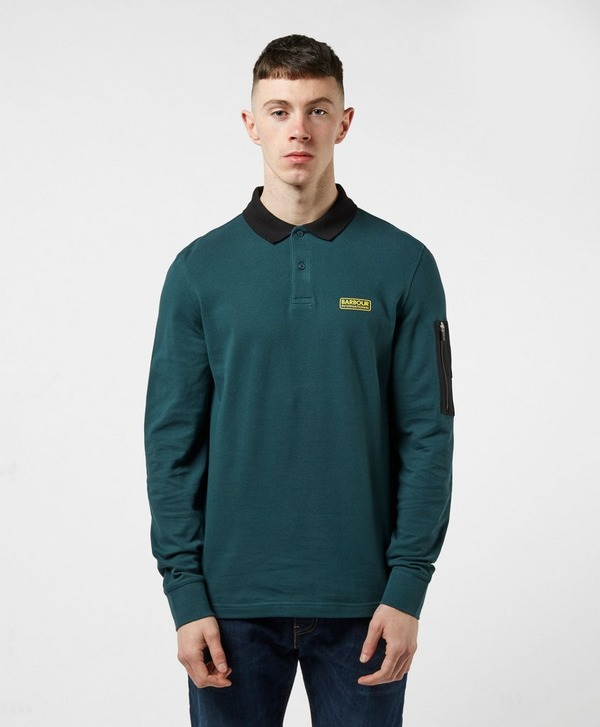 Barbour International Combine Long Sleeve Polo Shirt