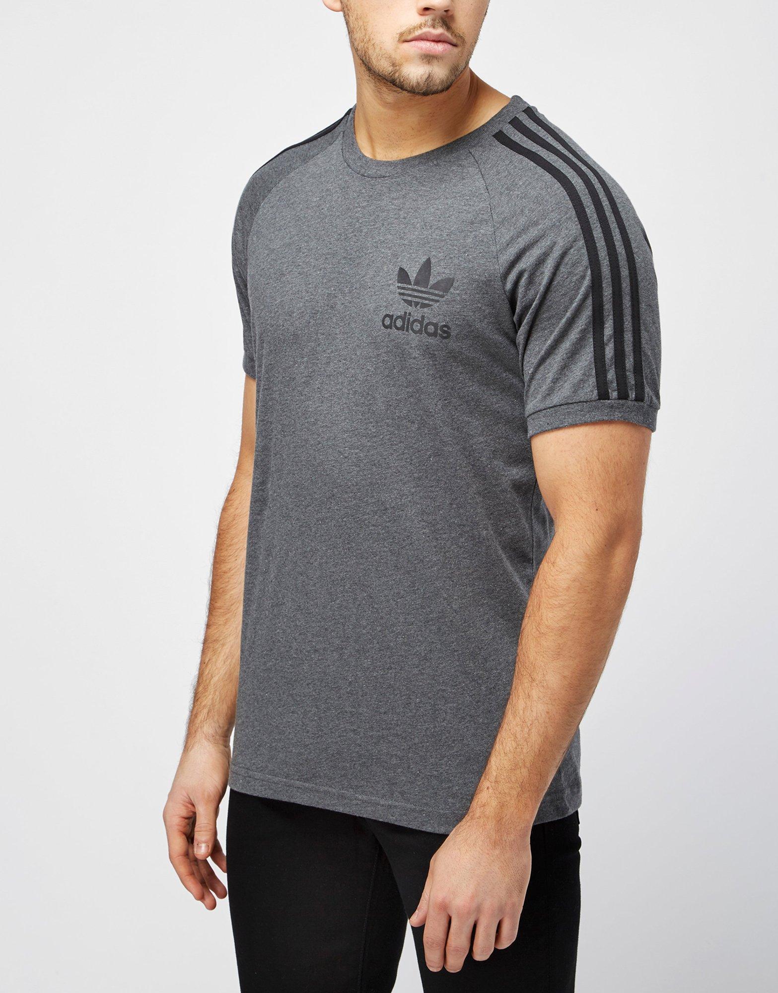 adidas originals california t shirt grey