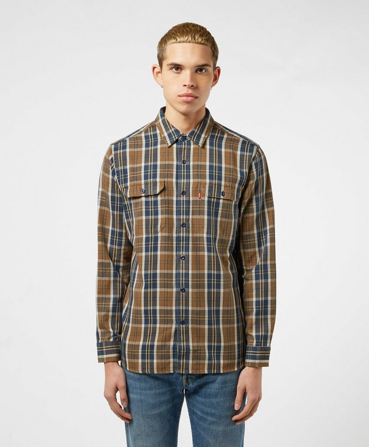 Levis Jackson Check Long Sleeve Work Shirt