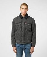 Levis Serif Back Sherpa Denim Jacket