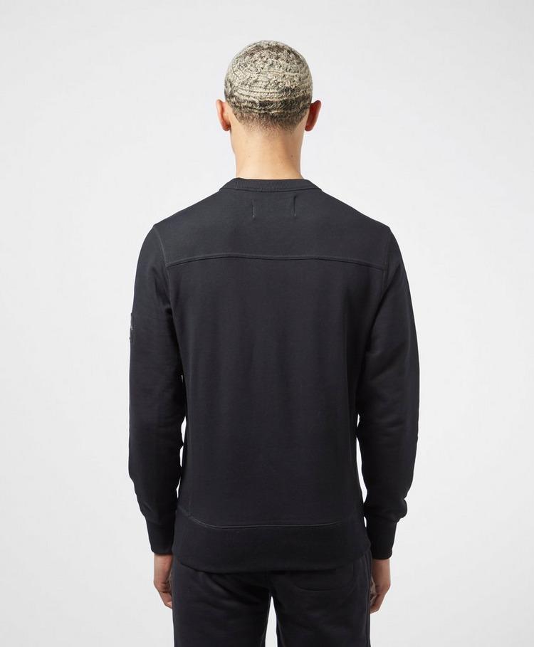 Calvin Klein Jeans Monogram Sleeve Badge Sweatshirt