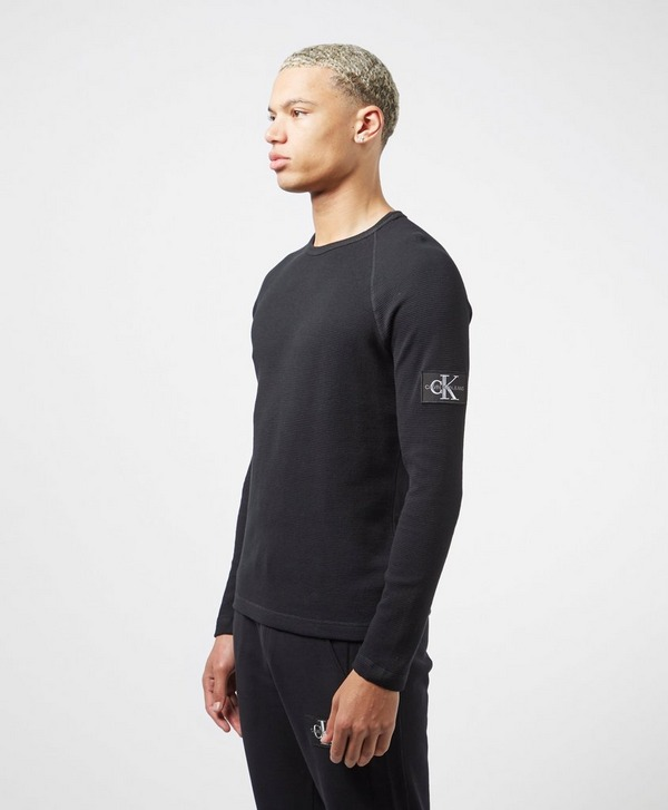 Calvin Klein Jeans Monogram Sleeve Long Sleeve T-Shirt