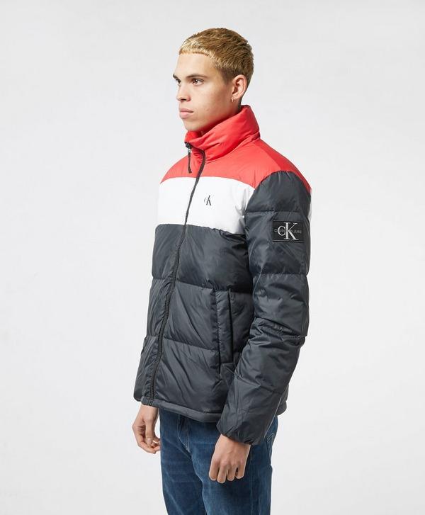Calvin Klein Jeans Colour Block Down Jacket
