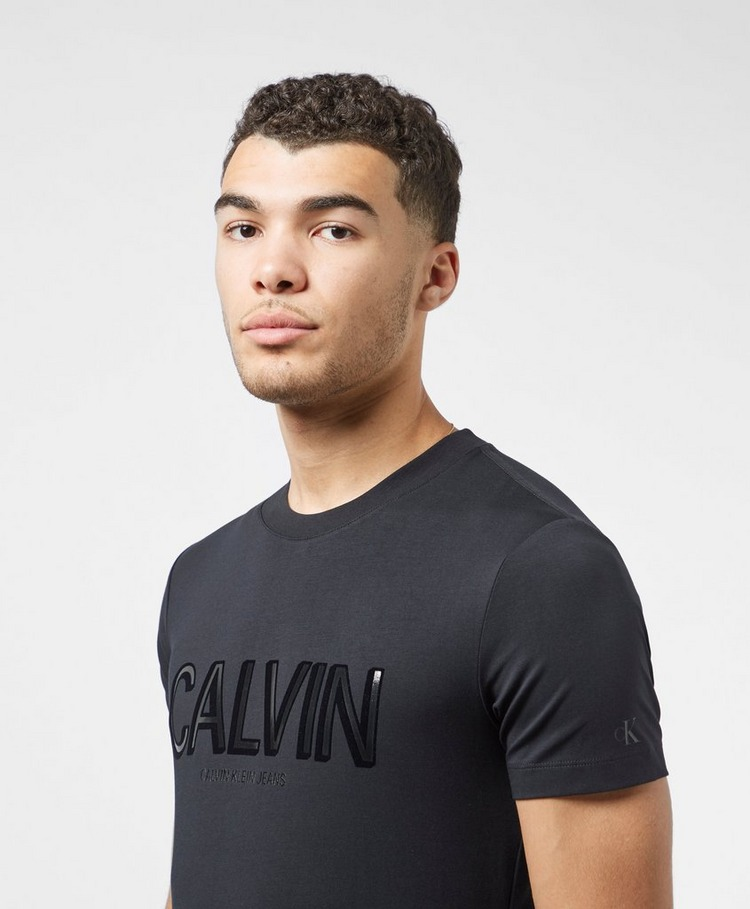 Calvin Klein Jeans Shine Logo Short Sleeve T-Shirt