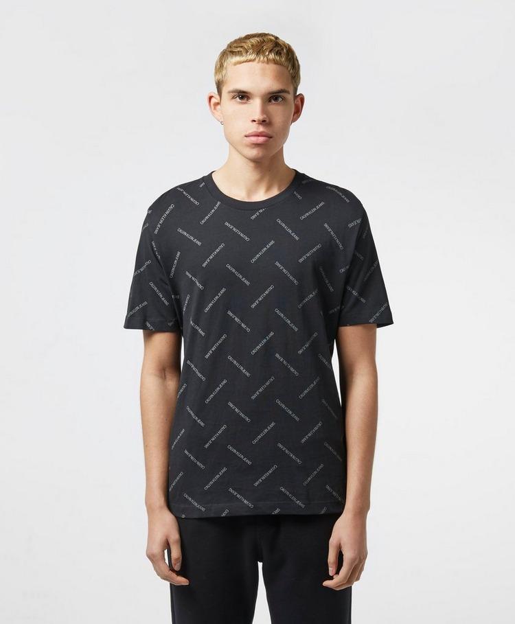 Calvin Klein Institutional Repeat Short Sleeve T-Shirt