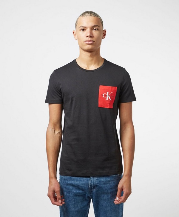 Calvin Klein Jeans Mono Short Sleeve Pocket T-Shirt