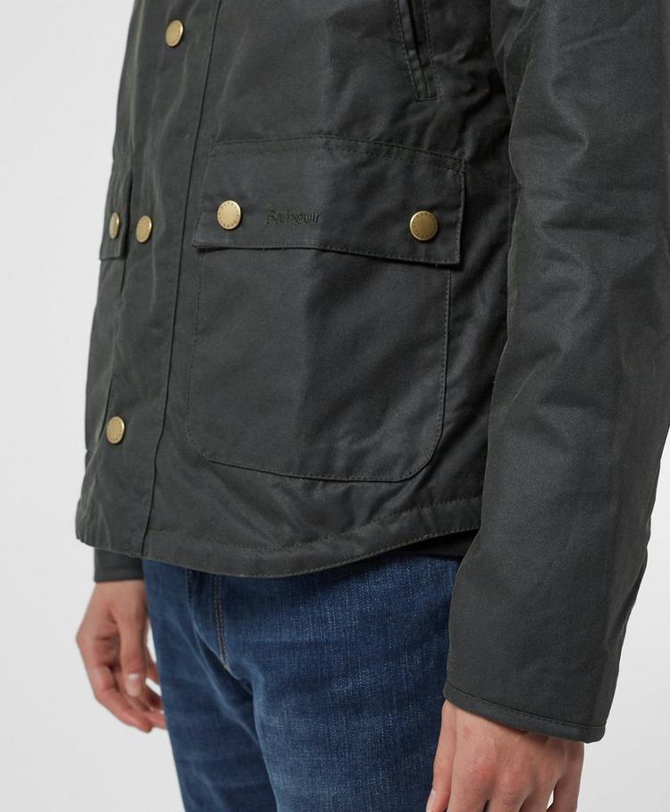 Barbour Reel Wax Padded Jacket