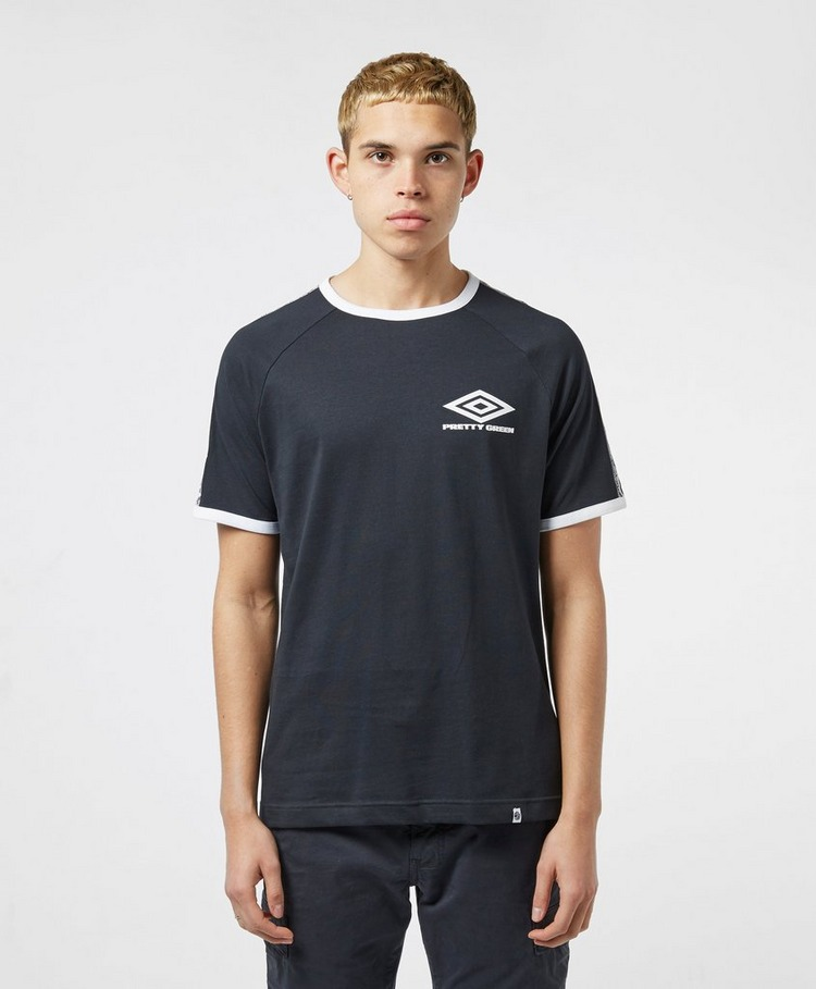 Pretty Green x Umbro Small Logo Short Sleeve T-Shirt