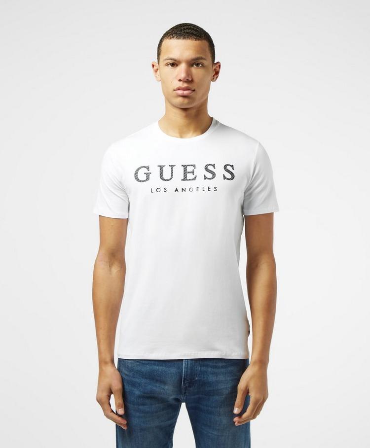 Guess Emboss Logo Short Sleeve T-Shirt