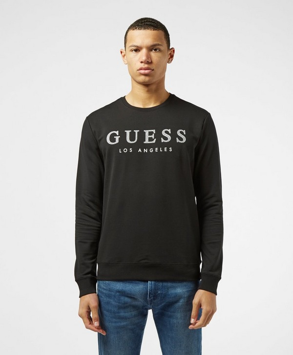 Guess Emboss Crew Sweatshirt
