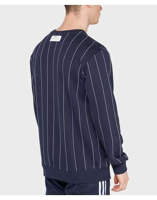 adidas Originals Tokyo Pinstripe Sweatshirt | scotts Menswear