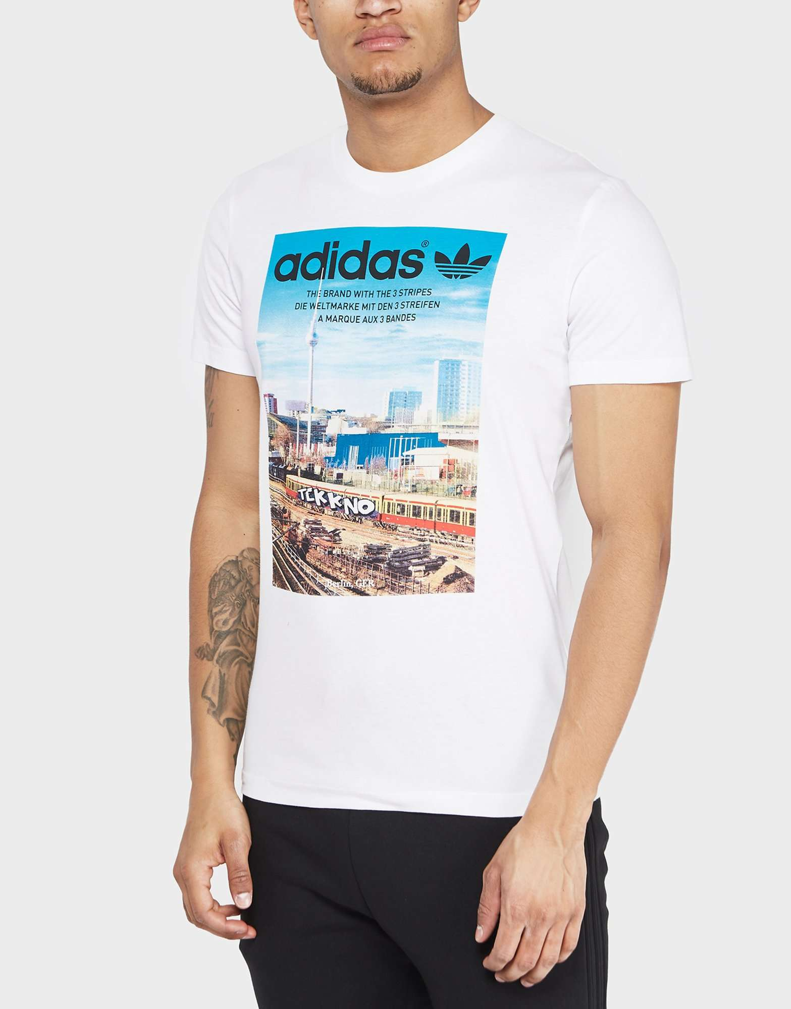Sleeve T Menswear Short Originals ShirtScotts Adidas City Berlin ymw8NPvn0O