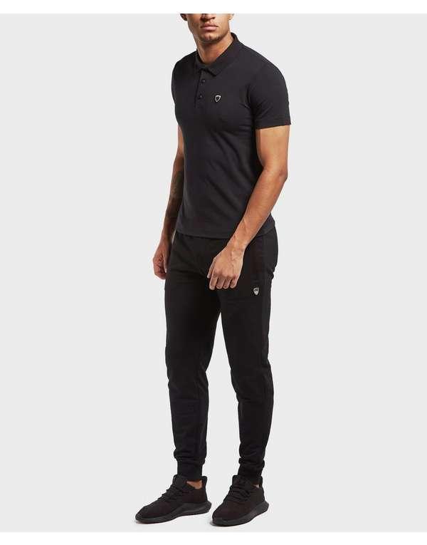 Emporio Armani EA7 Premium Shield Short Sleeve Polo Shirt