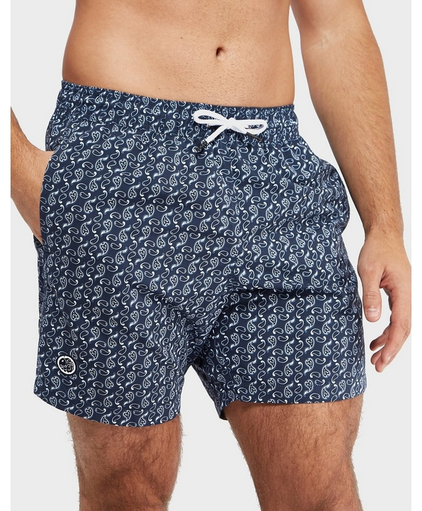 135ba665cf Pretty Green AOP Paisley Swim Shorts - Exclusive | scotts Menswear