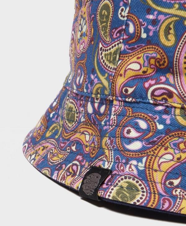 9b383f83826 Pretty Green Vintage Paisley Reversible Bucket Hat