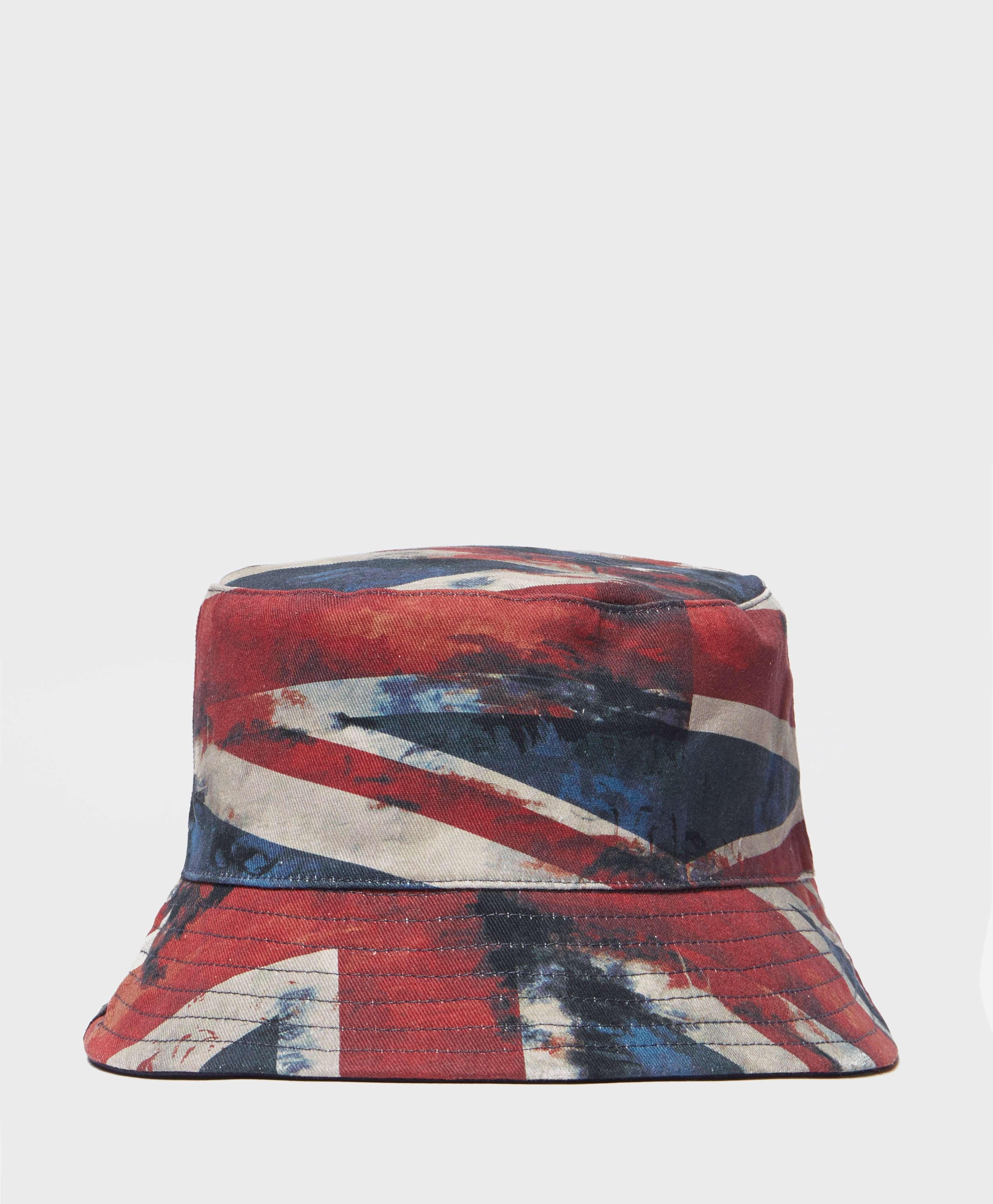 54bf0b8cd Pretty Green Union Jack Bucket Hat | scotts Menswear