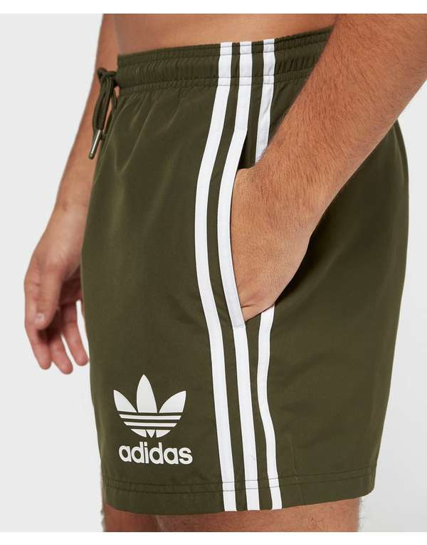 6b07754f894688 adidas Originals Cali Swim Shorts | scotts Menswear