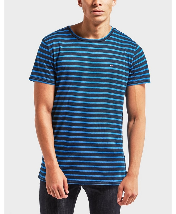 49f84962 Tommy Hilfiger Striped Short Sleeve T-Shirt | scotts Menswear