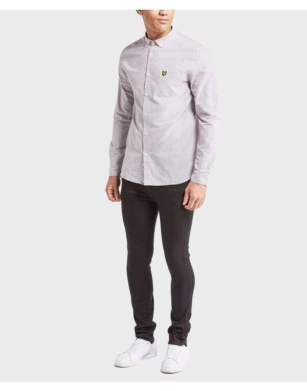 Lyle & Scott Long Sleeve Tattersall Shirt