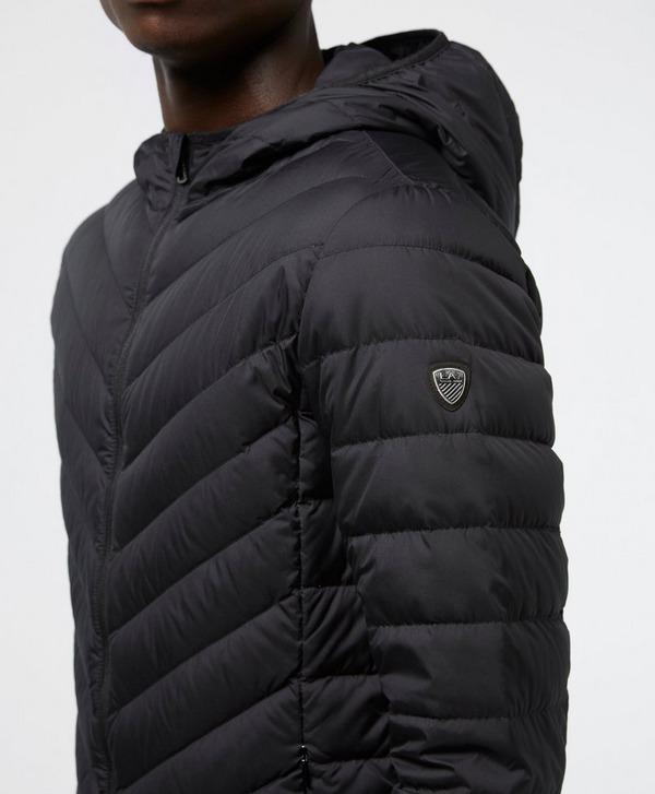 Emporio Armani EA7 Chevron Baffle Padded Jacket