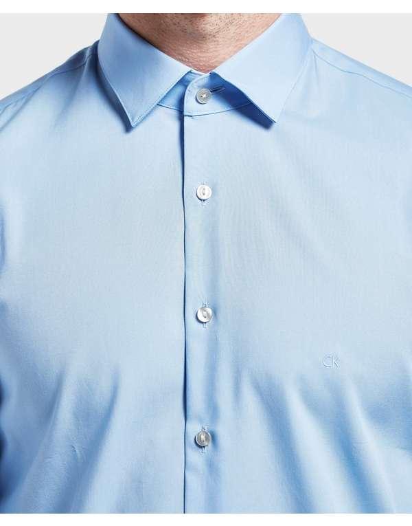 Calvin Klein Poplin Long Sleeve Shirt