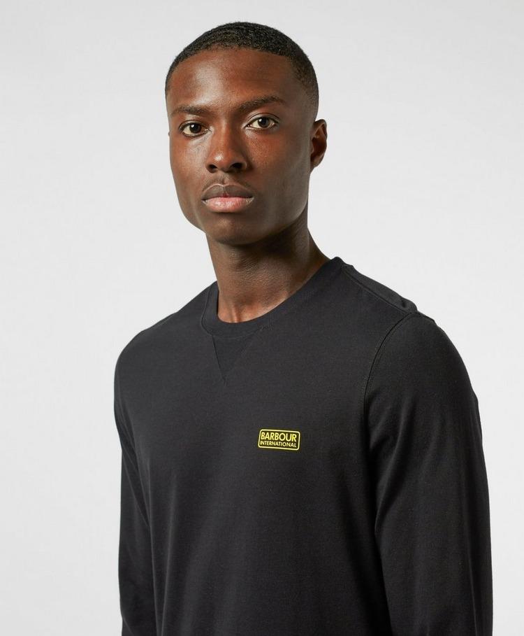 Barbour International Small Logo Long Sleeve T-Shirt