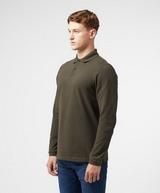 Barbour Tartan Trim Long Sleeve Polo Shirt