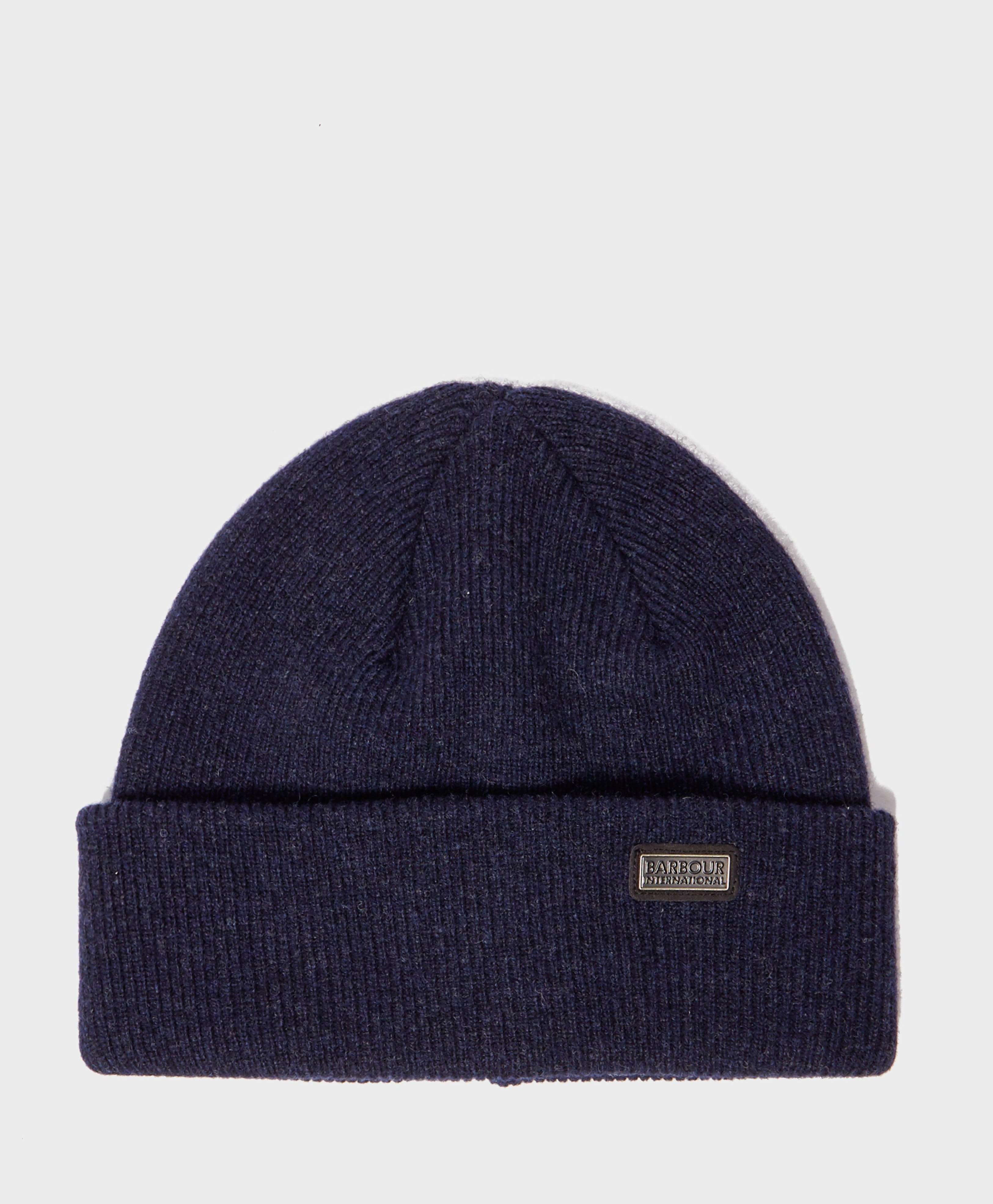 Barbour International Watch Knitted Beanie
