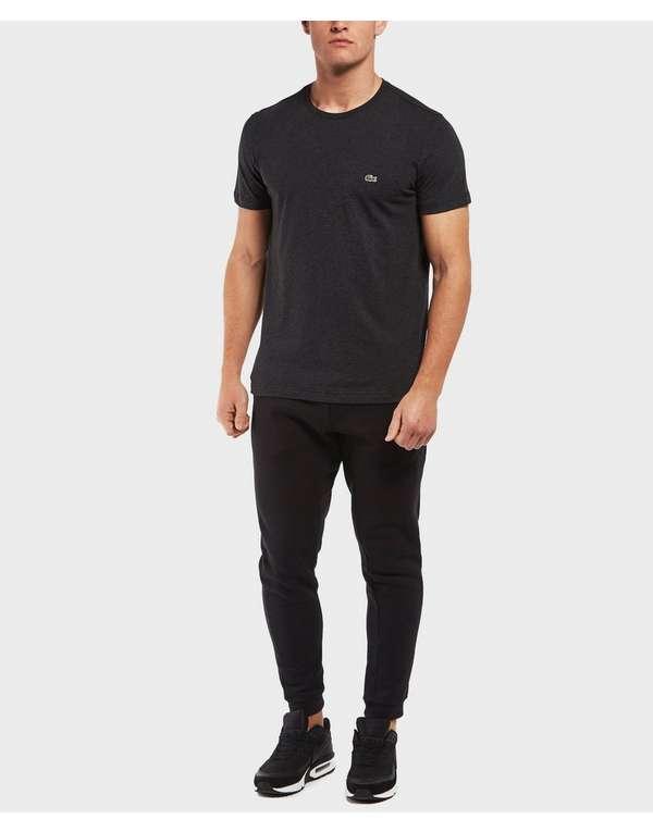 lacoste crew neck short sleeve t shirt scotts menswear. Black Bedroom Furniture Sets. Home Design Ideas